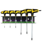 Set of screwdrivers in a stand 6pcs