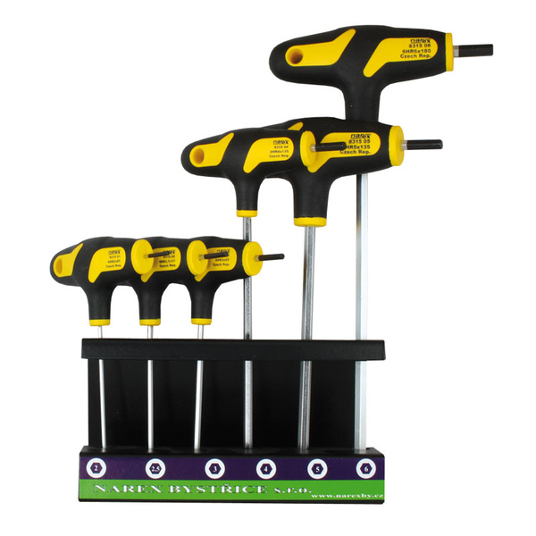set of screwdrivers in a stand 6pcs narex byst ice s r o. Black Bedroom Furniture Sets. Home Design Ideas