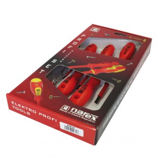 Screwdriver set 5pcs with voltage tester