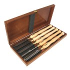 Set of woodturning chisels HSS LINE PROFI