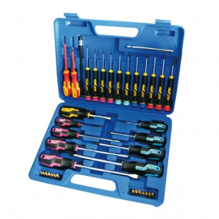Screwdriver set in box