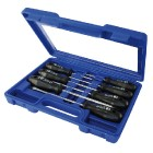 Screwdriver set 7pcs in plastic case