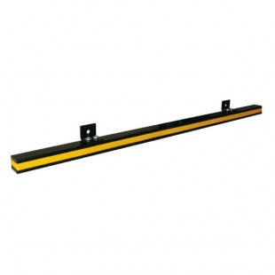 Magnetic tool rail